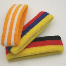 Strip Design Polyester + Cotton Head Band As YT-266