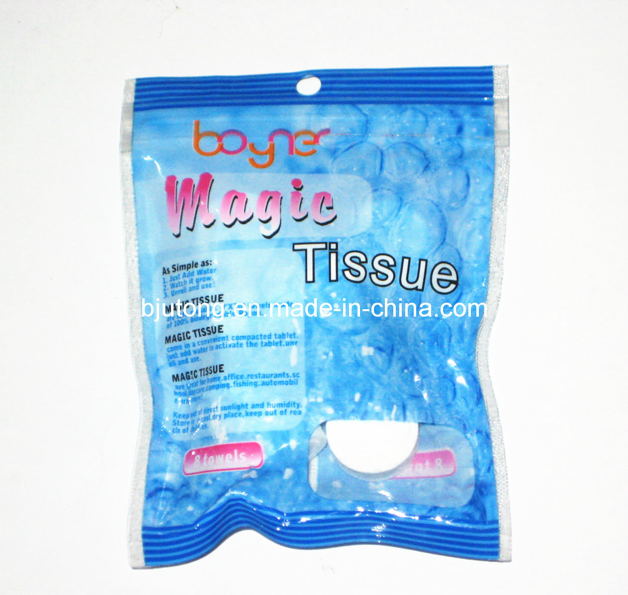 Coin Tissues in Color Bag Packing with OEM Design (YT-711)