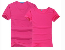 Lyocell Fiber Round Neck Short T-shirt as YT-2817