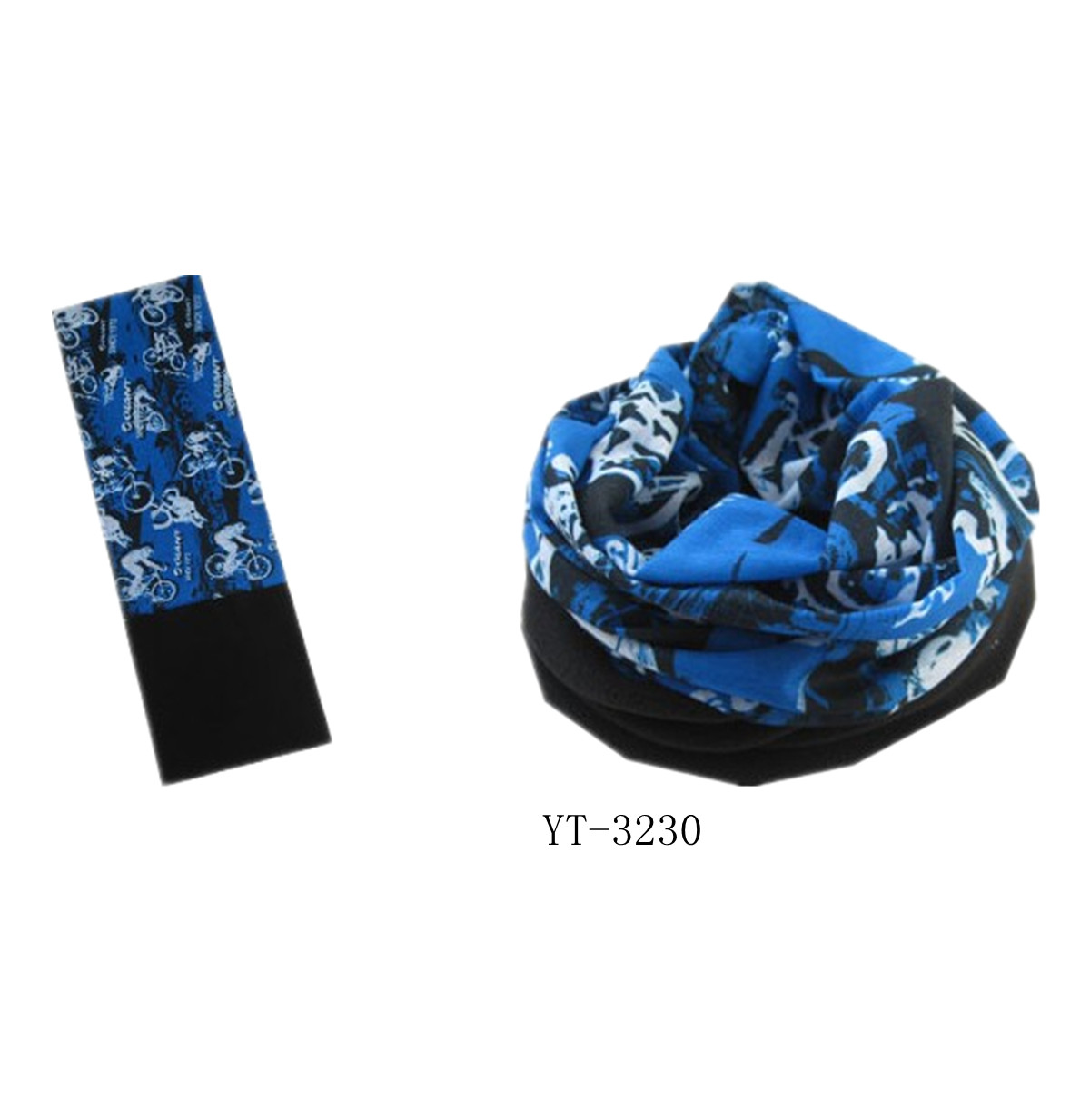 Beautiful Design Scarf with Fleece Part for Winter Wearing (YT-3227)