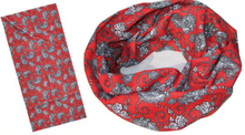 2 Color Printing Bandana with Worm Design (YT-873)