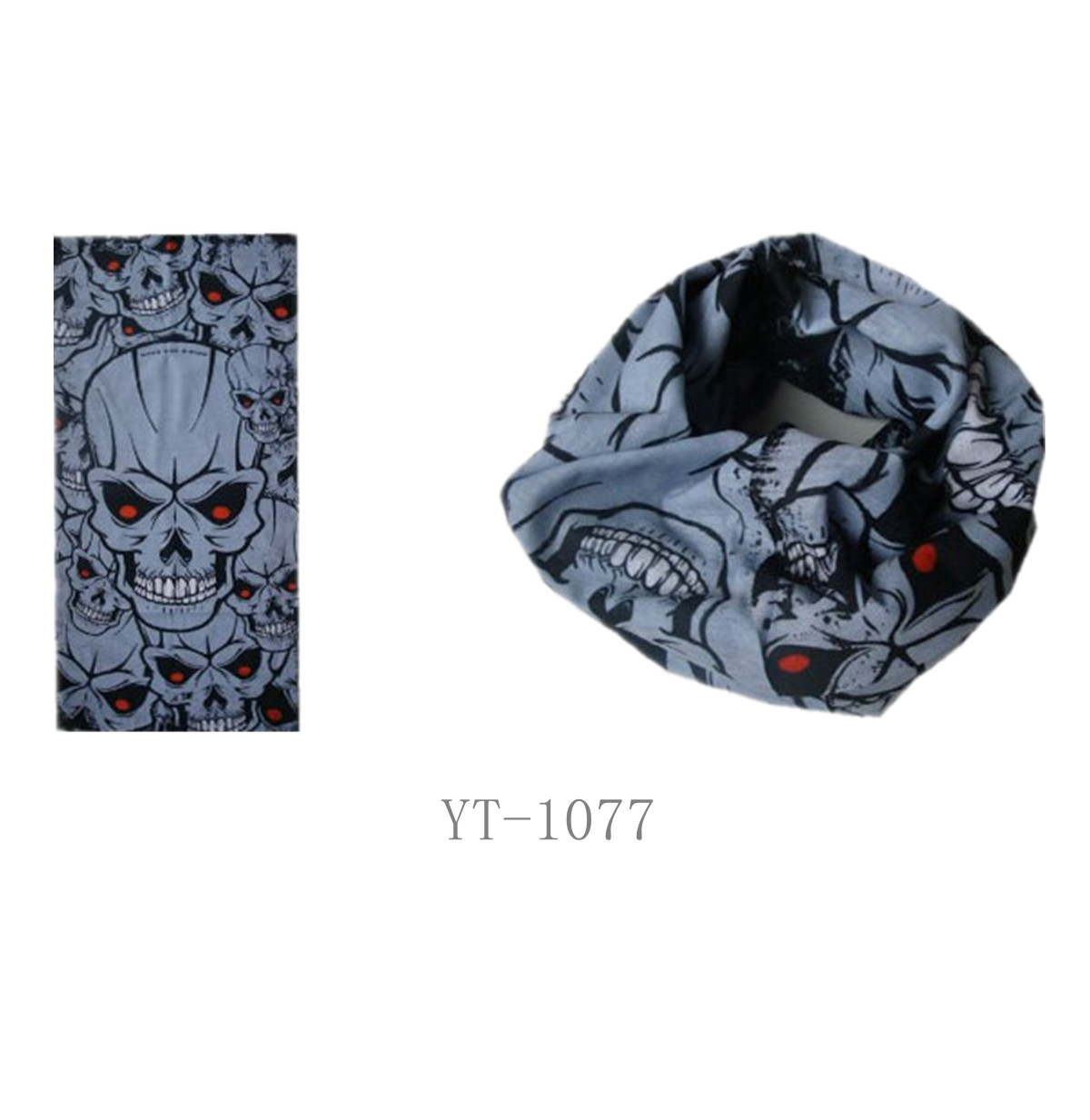 Multifunctional Headwear in Skull Design, Cool (YT-1077)