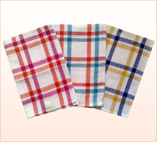 Tartan Jacquard Design Tea Towel (YT-182)