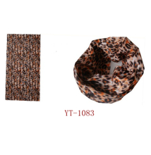 100%Polyester Scarf, Outdoor Sport Headwear in Leopard Design (YT-1083)