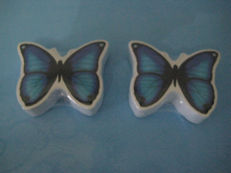 Butterfly Shaped Compressed Face Towel (YT-628)