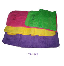 Velour Sports Towel in Four Colors for Your Choice YT-1302