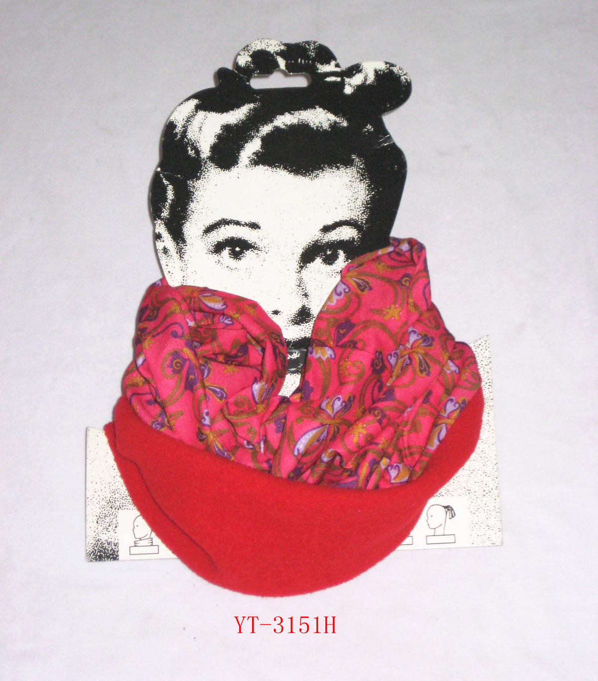 Neck Warmer in Polyester + Fleece Material with Your Design (YT-3151)