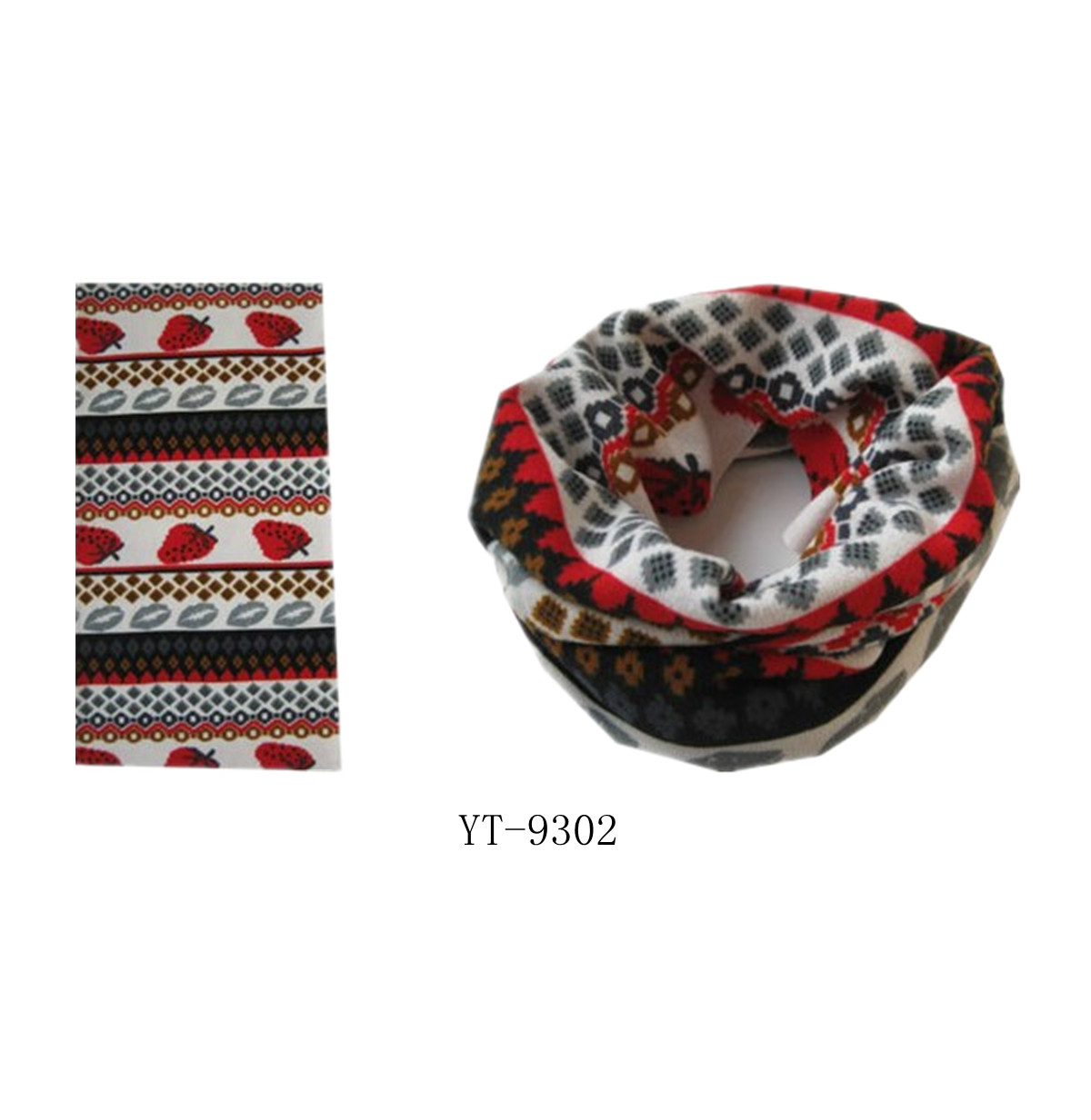Fashional Seaming Cashmere Scarf, Multifunction Scarf (YT-9302)