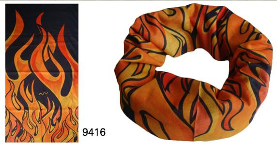 Flame Designed Bandana in Many Styles (YT-9416)